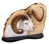 """Dilly Dally"" Dall Sheep - Acrylic Ink on Sycamore. AVAILABLE"