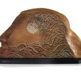 The Wave - Homage to hokusai Red cedar - AVAILABLE